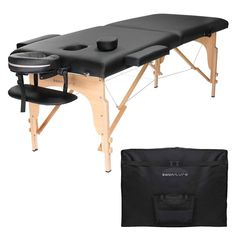 Chiropractic Professional Portable Folding Massage Rest Table with Carrying Case #MassageSupplies