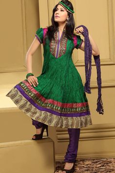 beautiful colors! salwar kameez
