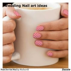 Shop Migned Art 33 - White and Pink Dots Minx Nail Art created by Migned. Personalize it with photos & text or purchase as is! Minx Nails, Red Nails, Nail Pink, Nail Art Designs, Gel Nails At Home, Pin On, Nail Sizes, Nagel Gel, Birthday Nails