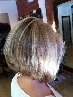 Candace Cameron Bure/ Back.  Love this hairstyle on her.