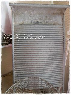 Waschbrett, Pinwand, Shabby Chic, Vintage, Chabby Chic 1889