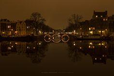 Amsterdam: Water Mirror III by Pedro Galamarra on Natural Mirrors, Amsterdam Canals, Urban Landscape, Photo Art, Book Art, New York Skyline, My Photos, Beautiful, Water