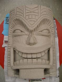 Tiki Clay mask