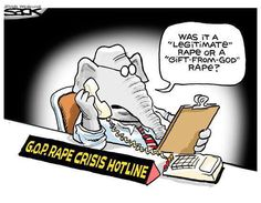 """Republicans need to stop trying to suggest some rapes are more """"legitimate"""" than others. Rape is rape."""
