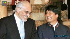 "#TierraPlus Evo dice que expresidente y Brennan se reunieron para evitar repostulación, Mesa lamenta ""espionaje"". http://htl.li/lFXU30gA0sX #Bolivia"