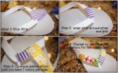 Embellish the Details: Fabric Covered Flip Flop Tutorial Chocolate Gold Coins, Personal Progress, Losing Faith, Fabric Covered, Flipping, Things To Think About, Embellishments, Flip Flops, Pattern