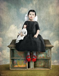 "by Beth Conklin -- ""People would rather live in homes regardless of its grayness. there is no place like home. Ephemeral Art, Magazine Collage, Encaustic Art, Arte Horror, Modern Artists, Whimsical Art, Portraits, Surreal Art, Altered Art"