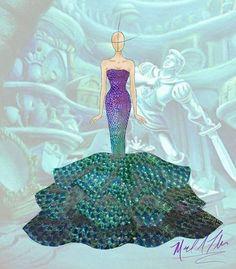 Michael Anthony (@michael_anthony_designs)  #TheLittleMermaid #Ariel