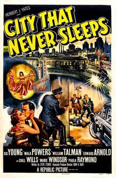 Carteles de Películas de Cine Negro de Republic Pictures