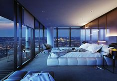 WorldDrop dream house luxury home house rooms bedroom furniture home bathroom home modern homes interior penthouse Dream House Interior, Luxury Homes Dream Houses, Dream Home Design, Modern House Design, Home Interior Design, Modern Mansion Interior, Modern Architecture House, Luxury Bedroom Design, Master Bedroom Design