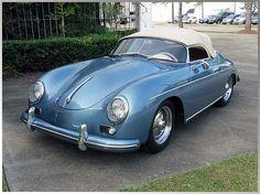 1956 Porsche Super Speedster Engine, Nut and Bolt Restoration. Got one in my garage! Porsche 356 Speedster, Porsche 356a, Porsche Carrera, Porsche Sports Car, Porsche Cars, Retro Cars, Vintage Cars, Vintage Porsche, Cute Cars