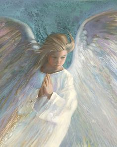 Angel in White Angel Images, Angel Pictures, Angel Artwork, I Believe In Angels, Psy Art, Angels Among Us, Guardian Angels, Process Art, State Art