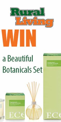 Win a Beautiful Botanicals Set Enter to win a reed diffuser set from Ecoya with gorgeous fragrances #yummy smell #reed diffuser #Ecoya