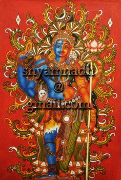 Graffiti Pictures, Graffiti Wall Art, Graffiti Wallpaper, Mural Art, Murals, Kalamkari Painting, Tanjore Painting, Lord Ganesha Paintings, Krishna Painting