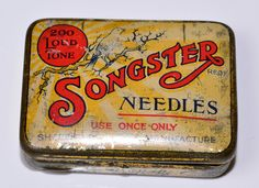 Gramaphone needles