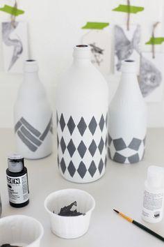 Paint bottle DIY