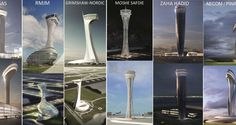 Air Traffic Control Tower at Istanbul New Airport - Arch2O.com