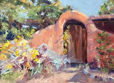Santa Fe Gates Paintings for Sale