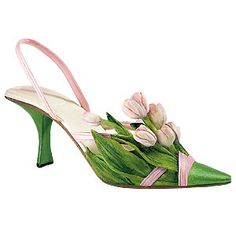 Treasurd Tulips 25353, Just the Right Shoe by Willitts Designs LOVE these!