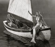 William Powell and Ann Blyth in Mr Peabody and the Mermaid (1948).