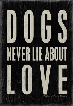 Dog quotes poster