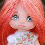 """521 Me gusta, 66 comentarios - Создаю текстильные куклы (@vodnat) en Instagram: """"Под этим фото много писать не буду (хватит букв под предыдущим) Но кому интересно, скажу.…"""""""