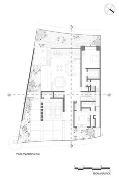by Imativa Arquitectos Large Floor Plans, Modern Floor Plans, Farmhouse Floor Plans, Modern House Plans, Vintage House Plans, European House Plans, Southern House Plans, Contemporary Country Home, Contemporary House Plans