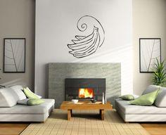 Wall-Sticker-Decals-Art-Mural-fruit-bananas-YE0066
