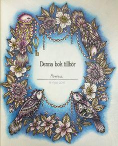 From Sommarnatt! Coloured by Morena Vajak #hannakarlzon #dagdrömmar…