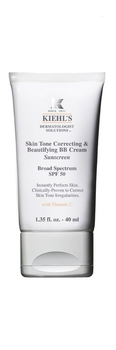 The Best BB Creams for Oily Skin: OIL-FREE, SKIN TREATMENT: This soft, smooth and matte finish BB cream is nutrient-filled with ingredients like amino acids and vitamin C.  It hydrates, corrects skin discolorations, conceals, helps with the treatment of wrinkles and fine lines, and has a broad spectrum SPF of 50. Kiehl's Skin Tone Correcting & Beautifying BB Cream, $38; Kiehls.com.