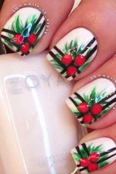 The+Christmas+Edit:+Christmas+Nail+Designs