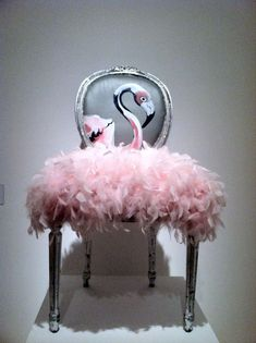 Flamingo chair Vanity Bench, Furniture, Home Decor, Homemade Home Decor, Home Furniture, Interior Design, Decoration Home, Home Interiors, Makeup Dresser
