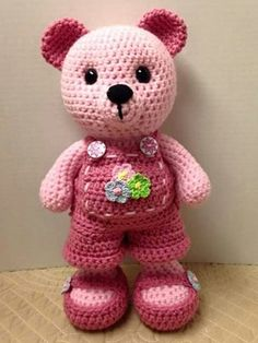 Mesmerizing Crochet an Amigurumi Rabbit Ideas. Lovely Crochet an Amigurumi Rabbit Ideas. Tutorial Amigurumi, Crochet Amigurumi, Amigurumi Patterns, Crochet Dolls, Knitting Patterns, Crochet Patterns, Amigurumi Doll, Bear Patterns, Free Knitting