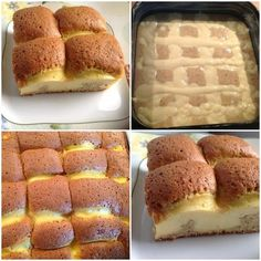 Κέικ σαν πάπλωμα Greek Desserts, Greek Recipes, Fun Desserts, Cooking Cake, Cooking Recipes, Sweets Recipes, Cake Recipes, Cake Fillings, Fat Foods