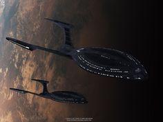 Star Trek Hawking Class Starship. Free Star Trek computer desktop wallpaper, images, pictures download