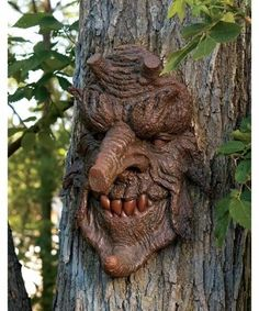 halloween tree decorations poison oak greenman tree statue halloween tree topper - Halloween Statues