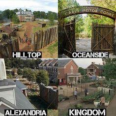 The Walking Dead (AMC) Locations