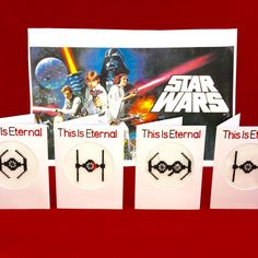 Star Wars Valentine's Cards TIE fighter series now ready to order! To avoid disappointment, all orders from the UK required for February 14th 2017 should be placed by February 4th 2017.