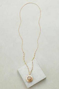 Alma locket necklace