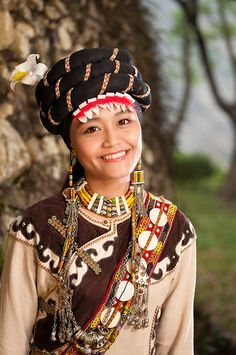 Rukai woman, Taiwan Indigenous Peoples Culture Park, Sandimen, Pingtung County, Taiwan