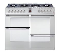 STOVES Sterling R1000DFT Dual Fuel Range Cooker Stainless Steel - With 7 ring burner £1294.00