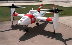 Operation history, technical specifications and images of the Bell Eagle Eye (Model 918) Unmanned Aerial Tiltrotor Helicopter.