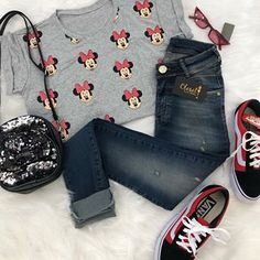 Fanfic / Fanfiction Foda-me daddy::Shawn Mendes - Capítulo 56 - Cap 49 Cute Disney Outfits, Disney World Outfits, Disney Themed Outfits, Disneyland Outfits, Disney Dresses, Casual School Outfits, Summer Outfits For Teens, Cute Casual Outfits, Teen Fashion Outfits