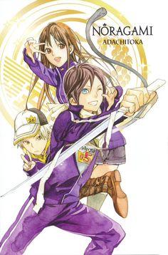 Yato, Hiyori, and Yukine Noragami