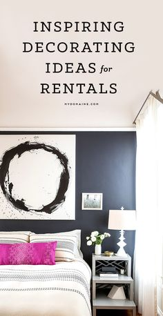 How to decorate your rental // home inspiration