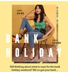 New Look: Spring into the Bank Holiday with style Email Design Inspiration, Style Inspiration, Lookbook Design, Fashion Banner, All Jeans, Newsletter Design, Pop Design, Fashion Photography Inspiration, Fashion Collage