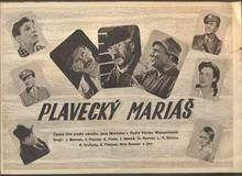 MORÁVEK, JAN - PLAVECKÝ MARIÁŠ. - 1952.