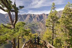 De mirador la Cumbrecita La Palma