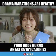 You heard it here first! #VikiBinge is good for you. #kdrama
