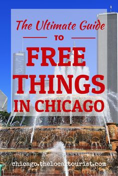 You'd be surprised at the number of free things to do in Chicago. Beyond parks and beaches, there are several museums that are free all the time, and the major museums offer free days for Illinois residents. There are also many free events. Check this guide to find the many free things to do in Chicago!